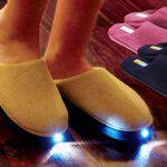 LED Lighted Fleece Slippers: $12 for Kids, $15 for Adults, $3 Shipping!