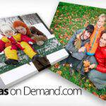 LAST DAY: $45 for a 16″x20″ Wrapped Canvas Print + Free Shipping!