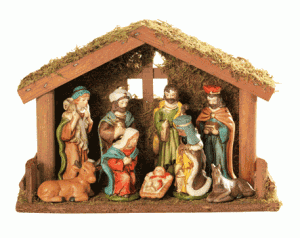 nativity set