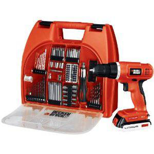 Black & Decker Drill Kit