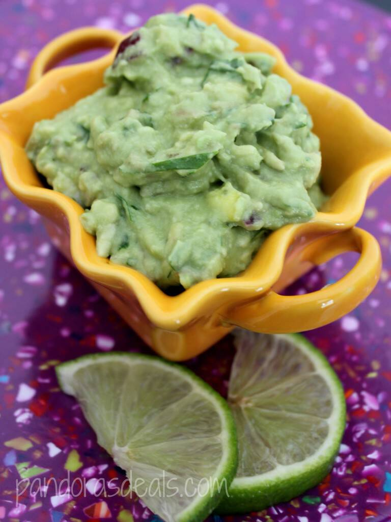 I swear I could live on this. Here's my recipe for Fresh And Easy Homemade Guacamole. So good, really easy to make, and so versatile. The perfect appetizer or game day food.