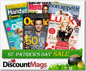 St. Patrick's Day Mag Sale