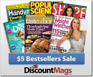 5 dollar magazine sale