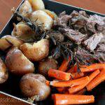 Easy Slow Cooker Pot Roast Dinner