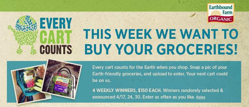 Earthbound Grocery Giveaway