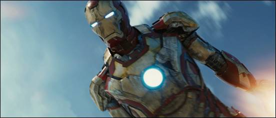 Iron Man 3 Air Force One Rescue