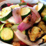 Seasoned Grilled Summer Vegetables