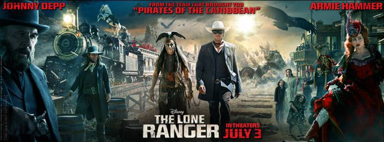 The Lone Ranger iTunes Trailer