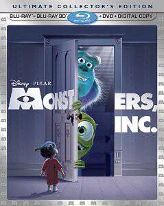 Monsters Inc 5 Disc Set