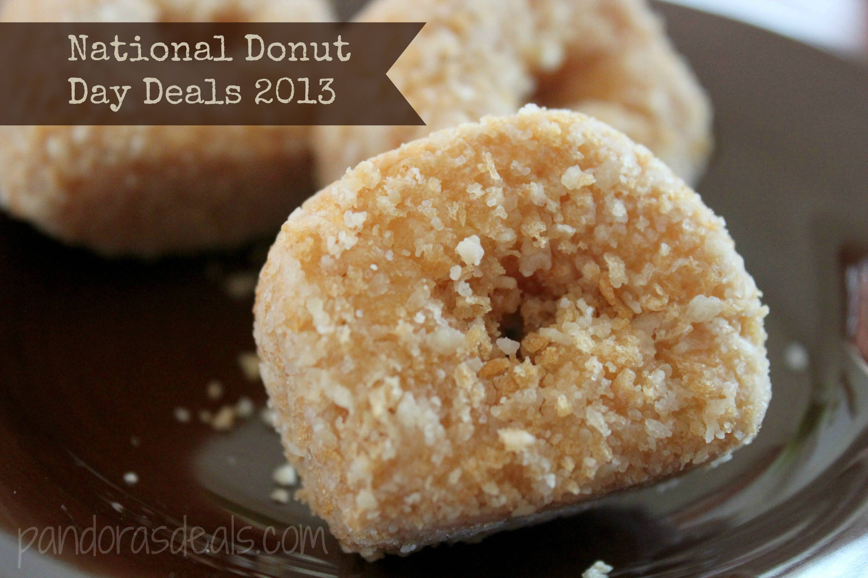 National Donut Day Deals