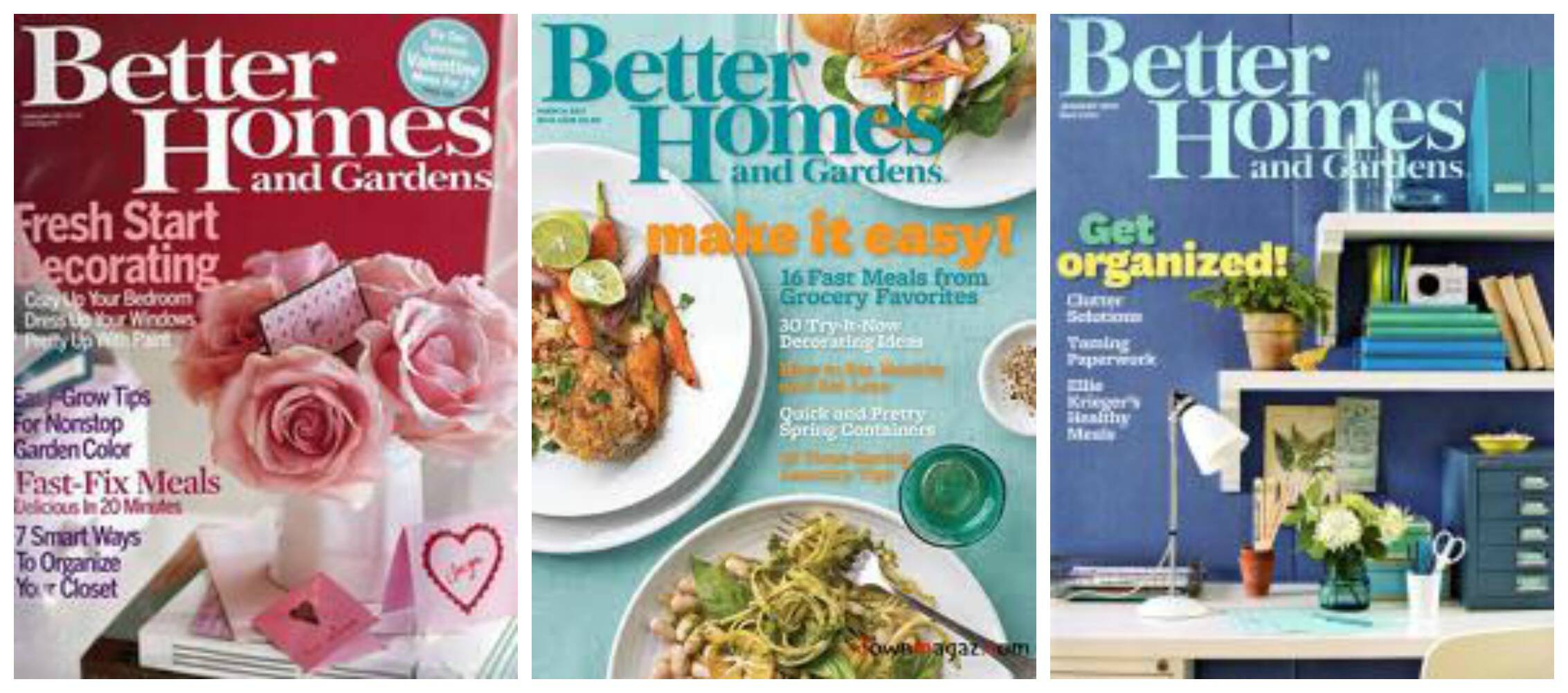 Magazine deals 7 19 vanity fair better homes gardens bon appetit 7 better homes and gardens