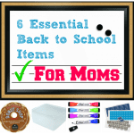 6 Essential Back To School Items for Moms