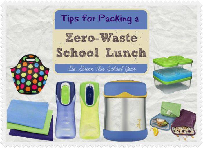 The amount of waste the typical school lunch creates is kinda shocking. Here's how I pack my kids zero waste school lunches and save money at the same time!