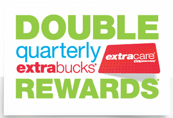 double quarterly extrabucks rewards