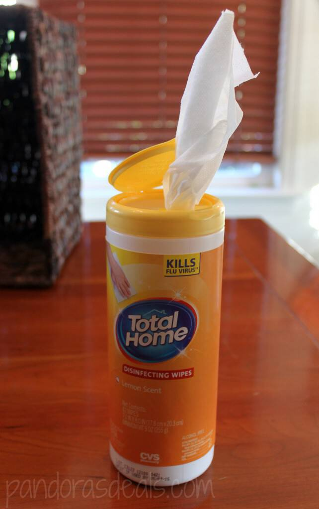 CVS Total Home Disinfecting Wipes