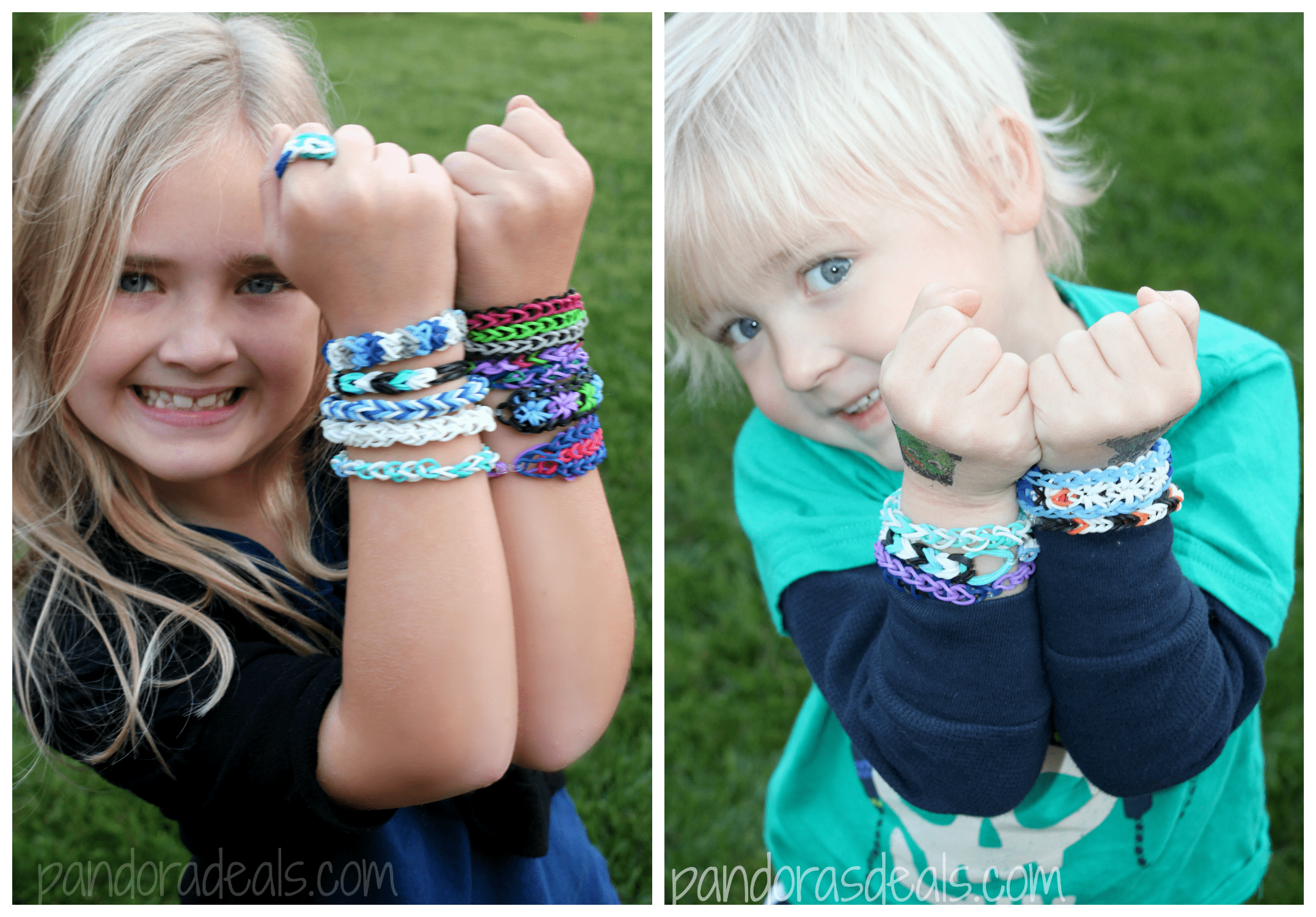 Frozen Bracelets on Kids