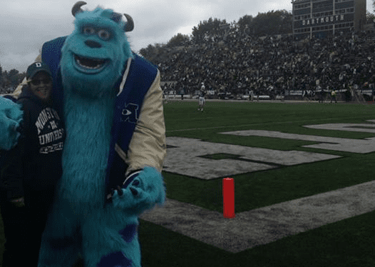 Sulley at Dartmouth