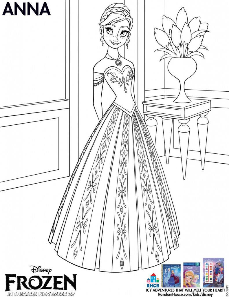 Disney Frozen Activity Sheets