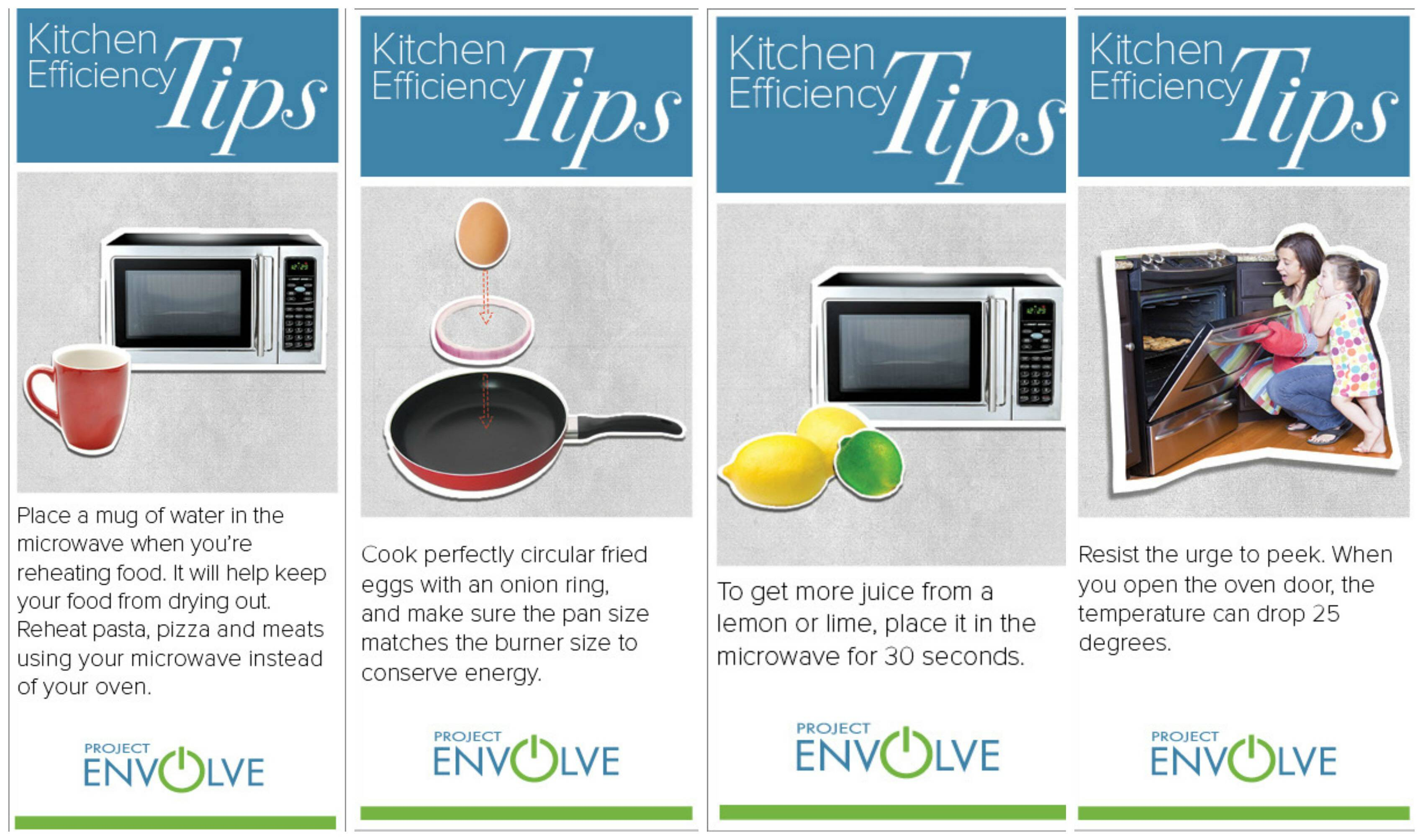 Great Kitchen Efficiency Tips
