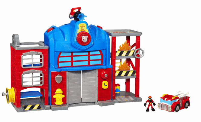 Transformers Rescue Bots Firehouse