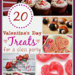 20 Valentine's Day Treats for a Class Party