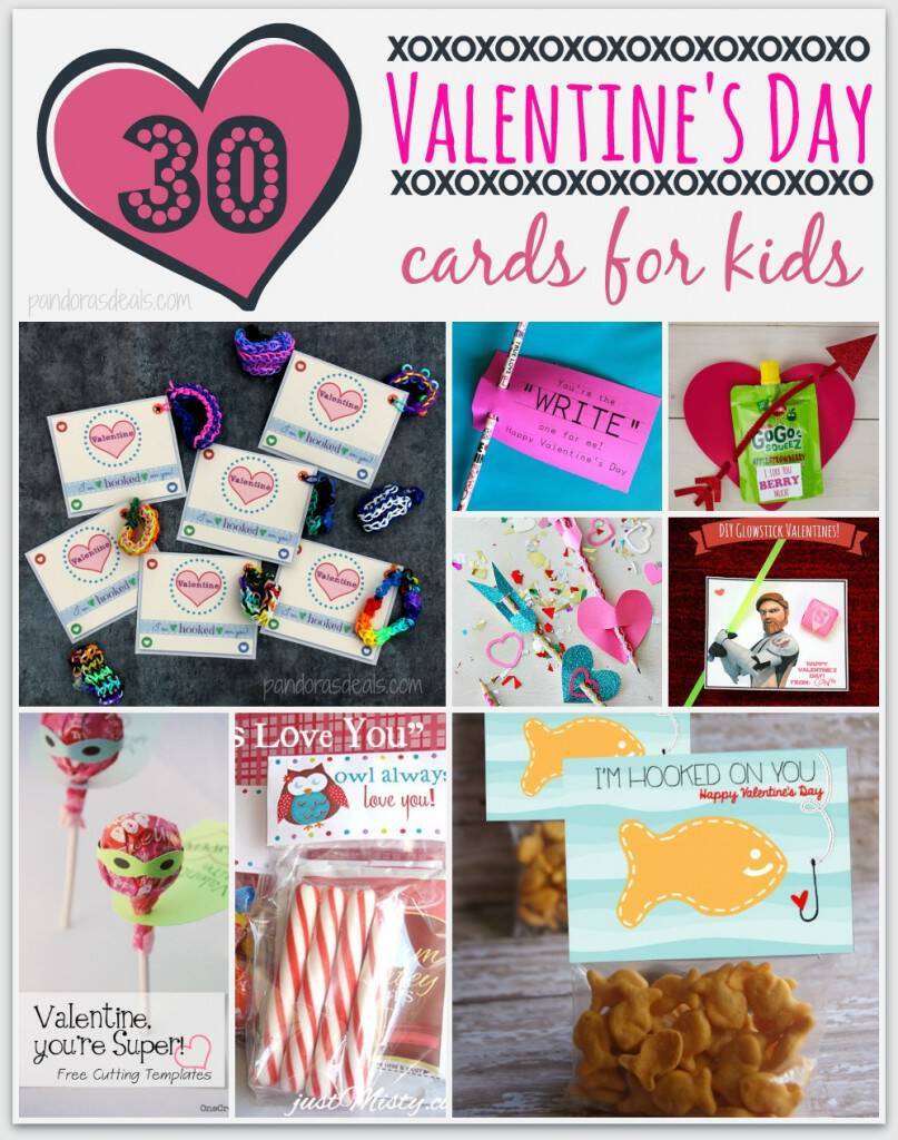 30 DIY Valentines Day Cards for Kids See Mom Click – Valentines Cards Ideas for Kids