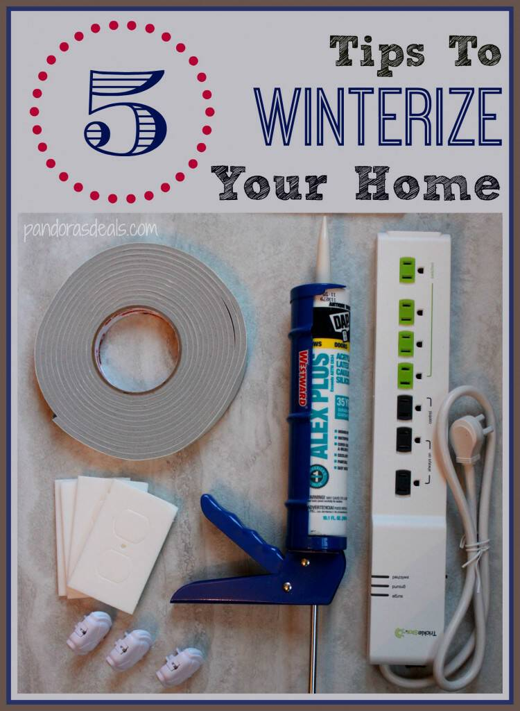 Baby it's cold outside! If you're in a deep freeze like we are use these simple and energy efficient tips to winterize your home and save money!