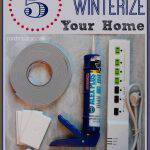 5 Tips to Winterize Your Home & Save on Energy Costs #ProjectEnvolve #GetEnvolved