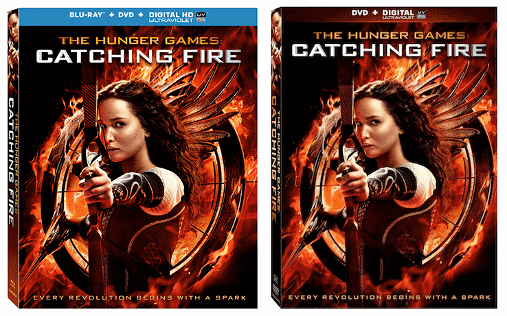 Catching Fire on Blu-Ray