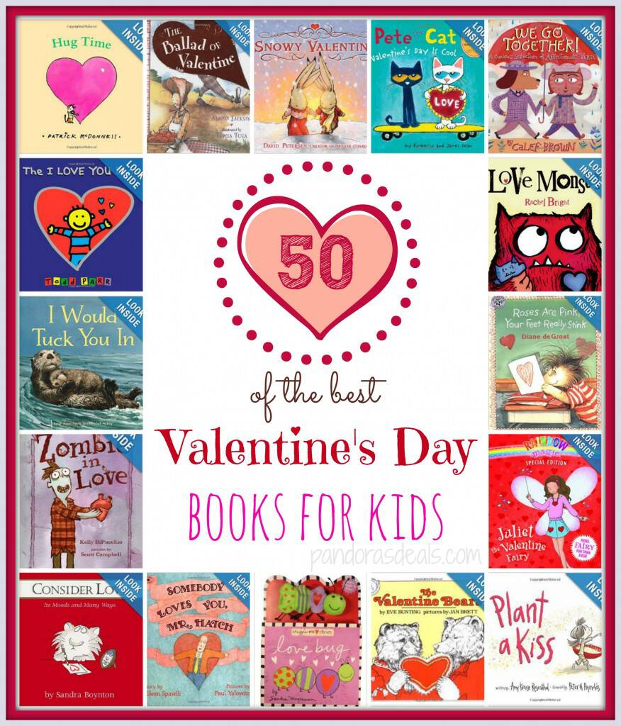 Ready to curl up with a good book with your little sweethearts? I love to read to my kids. Here are 50 of the best Valentine's Day books for kids!