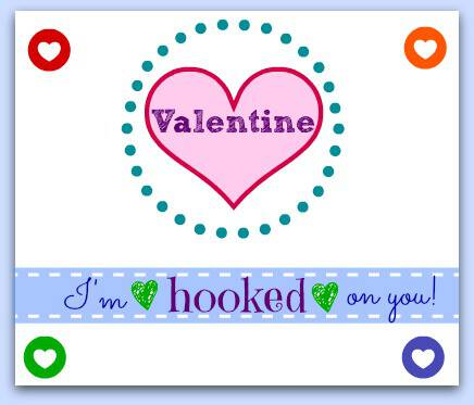 Valentine's Day Rainbow Loom Card