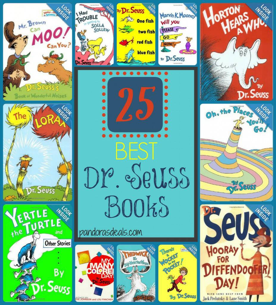 25 Best Dr Seuss Books See Mom Click