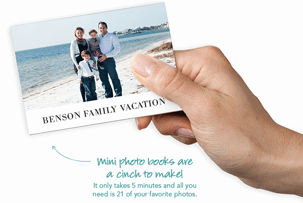 free mini photo book
