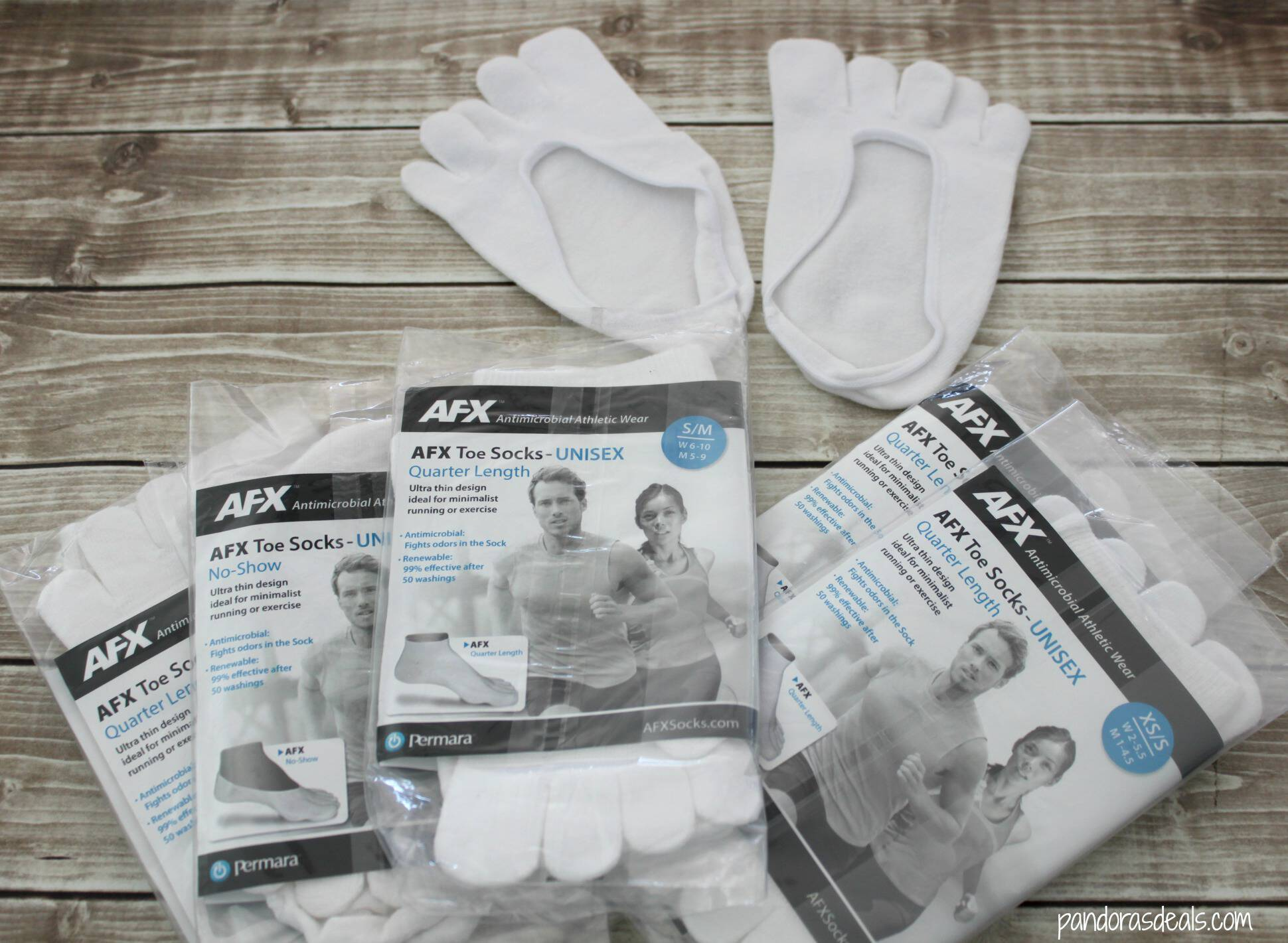 AFX Toe Socks