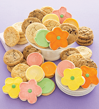 cheryl's springtime cookie gift box