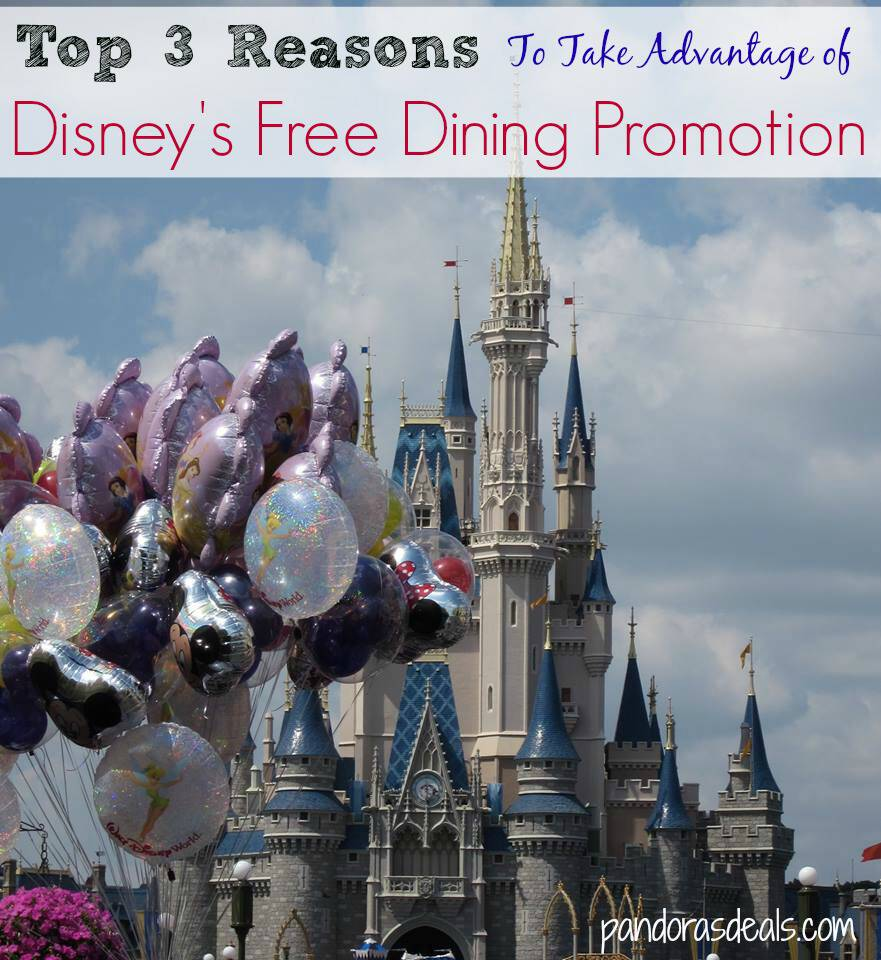 Top 3 reasons to use disney 39 s free dining promotion How to get free dining at disney