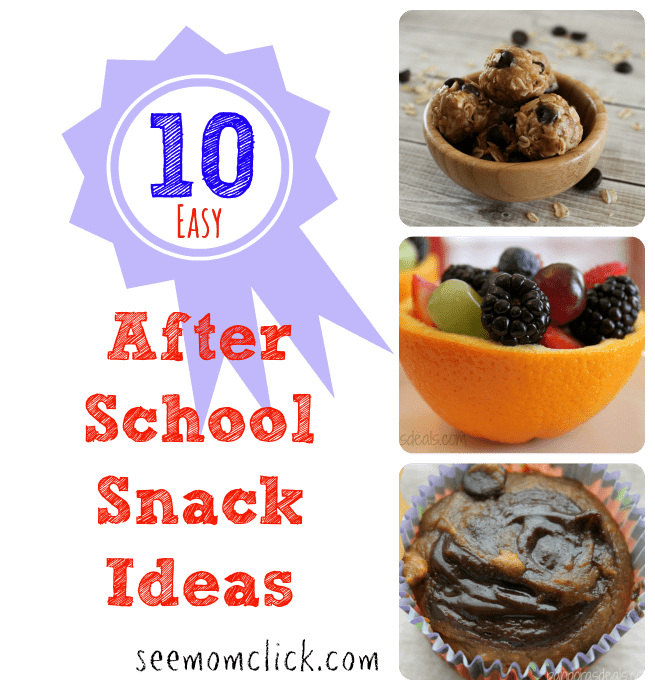 Easy After School Snack Ideas