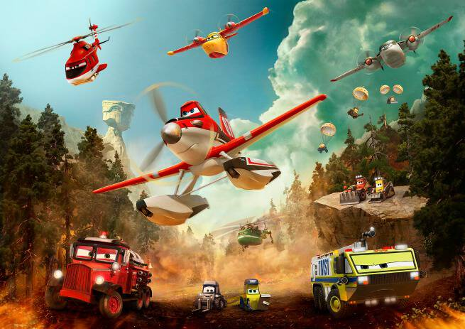 Planes Fire and Rescue Characters Photo