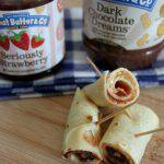 School Lunch Makeover: Peanut Butter and Jelly Crepes #PBJrevolution + Giveaway