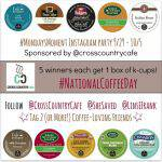 #MondaysMoment Cross Country Cafe Instagram Party & Giveaway!