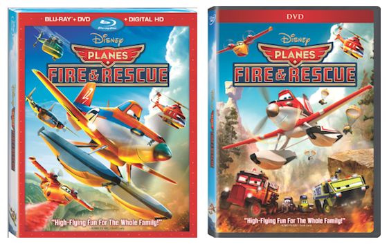 Disney Planes Fire and Rescue on Blu Ray
