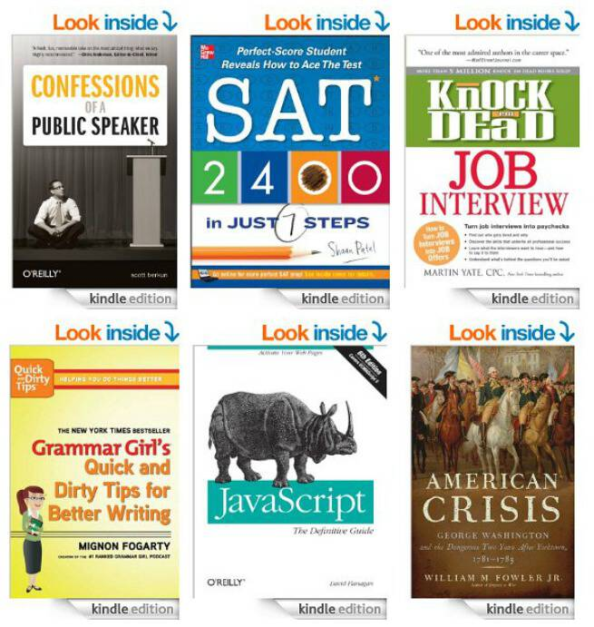 Kindle books for students
