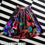 Watercolor skirts