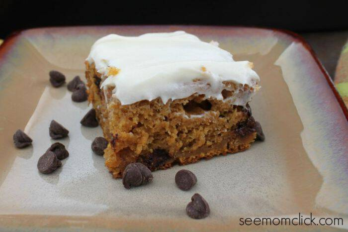 Pumpkin Chocolate Chip Cake Recipe