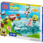 Mega Bloks SpongeBob Squarepants™ Invisible Boatmobile Rescue + Giveaway!
