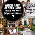 Which Area of Your Home Needs the Most Organization? #MomsCheckIn