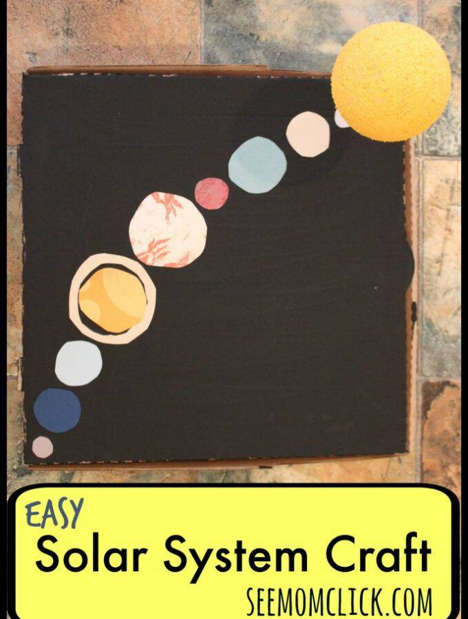 Easy Solar System Craft + INTERSTELLAR Movie Trailer #InterstellarCountdown