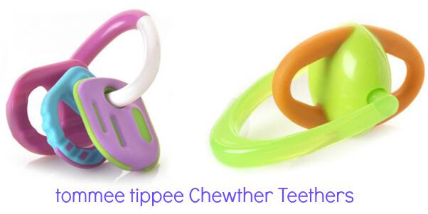 tommee tippee chewther teethers