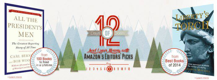 12 Days of Kindle Deals