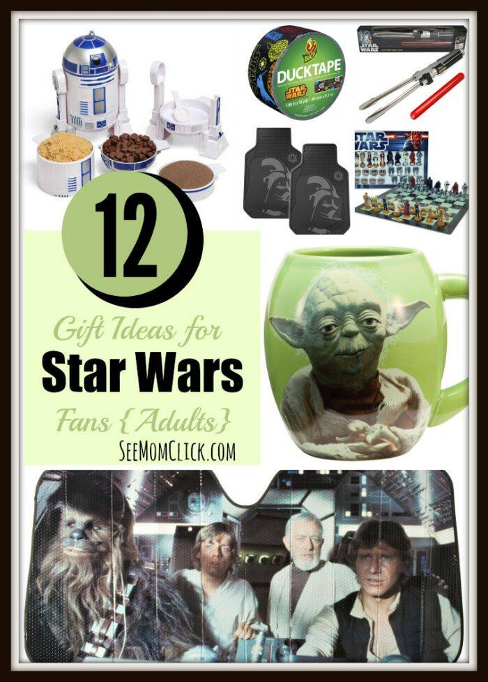 12 Gift Ideas for Star Wars Fans Adults